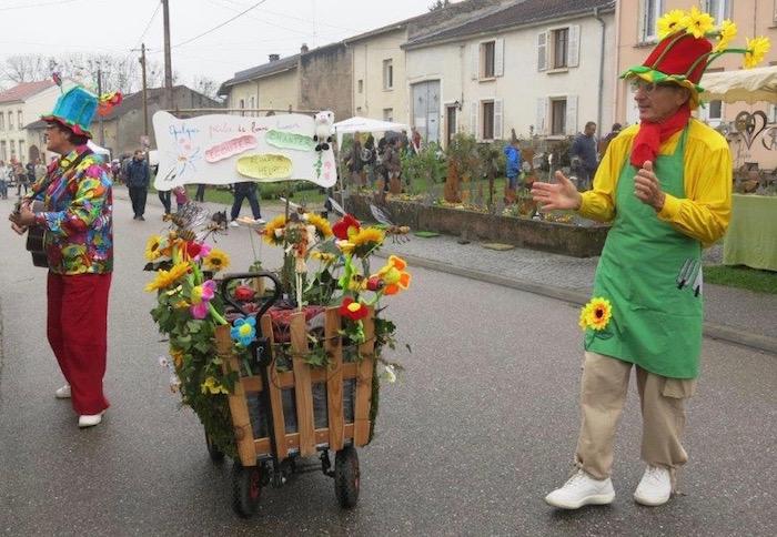 Marché au Pousses Laronxe