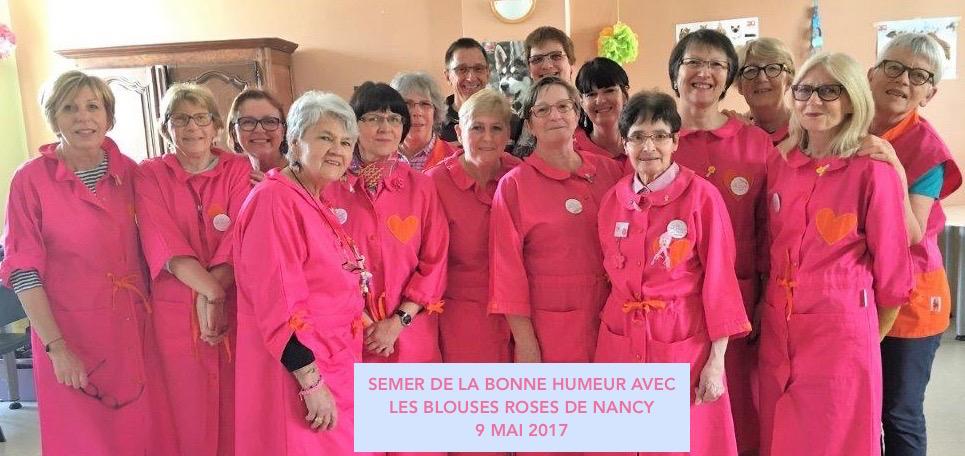 Avec les Blouses Roses de Nancy