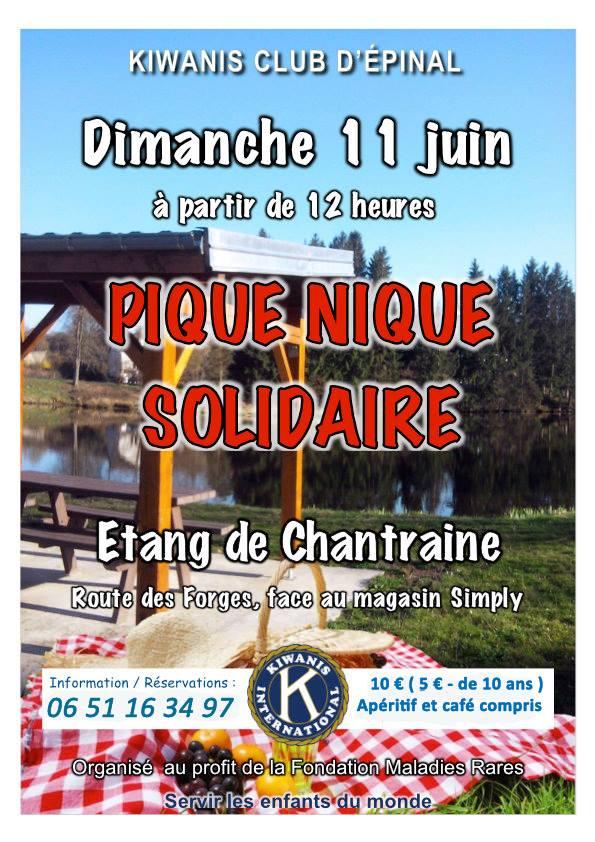 Pique-nique solidaire - Chantraine