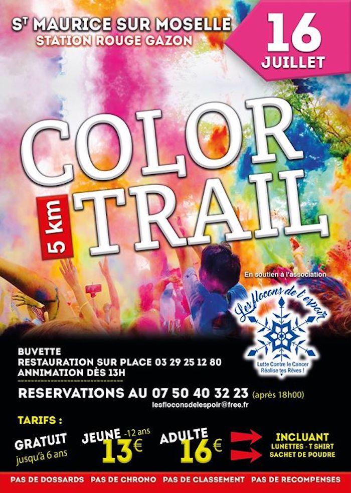 Color trail - Les Flocons de l'Espoir - Bussang
