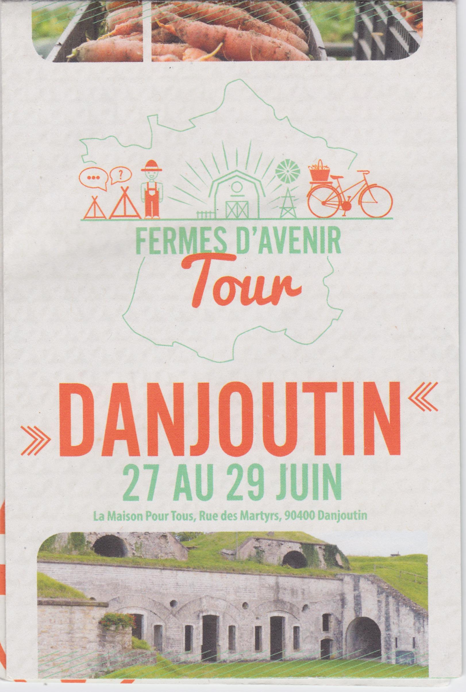 Tour Fermes d'Avenir - Danjoutin