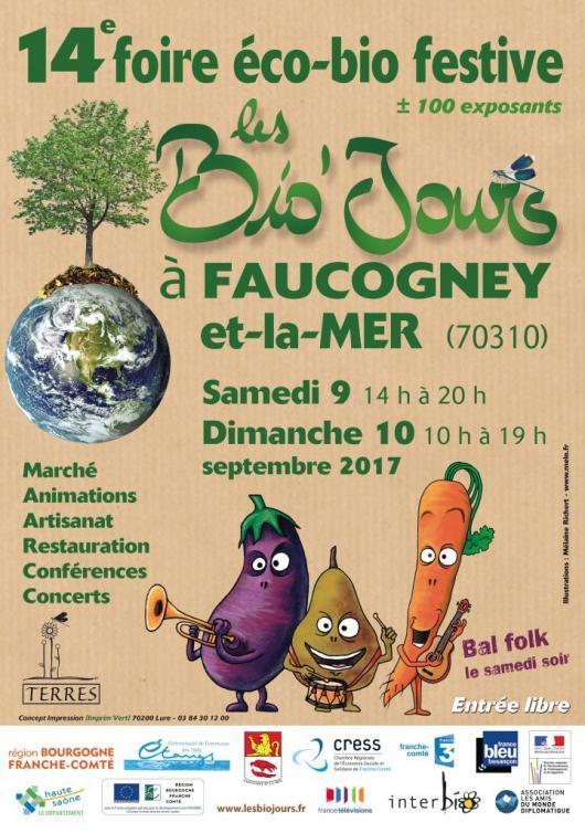 Affiche Bio'jours 2017 Faucogney
