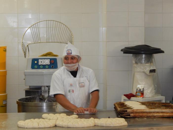 Pâtissier en plein travail !