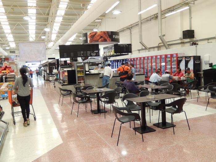 Restauration en supermarché