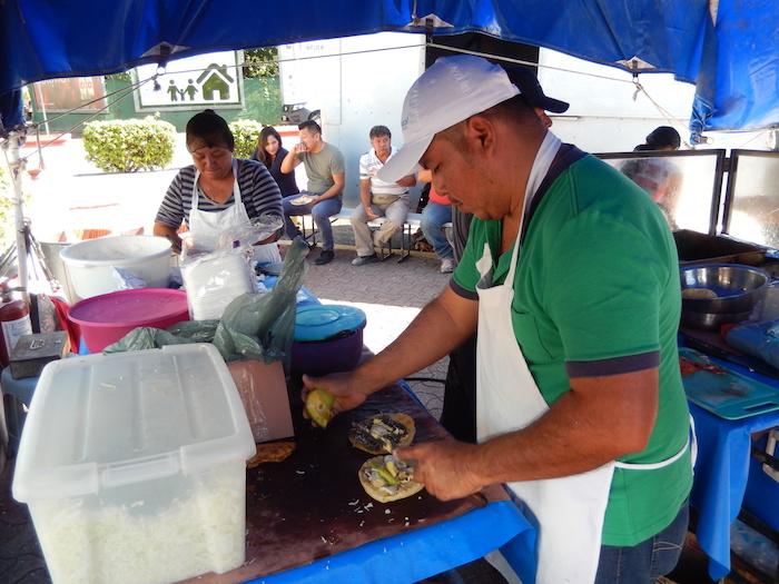 Réalisation des tacos