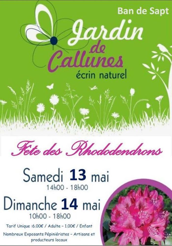 Fête des Rhododendrons - Jardin des Callunes