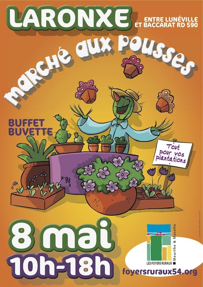 Marché aux Pousses - Laronxe