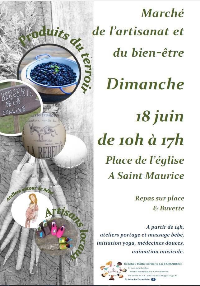 Marché de l'Artisanat et du Bien-Être - Saint-Maurice