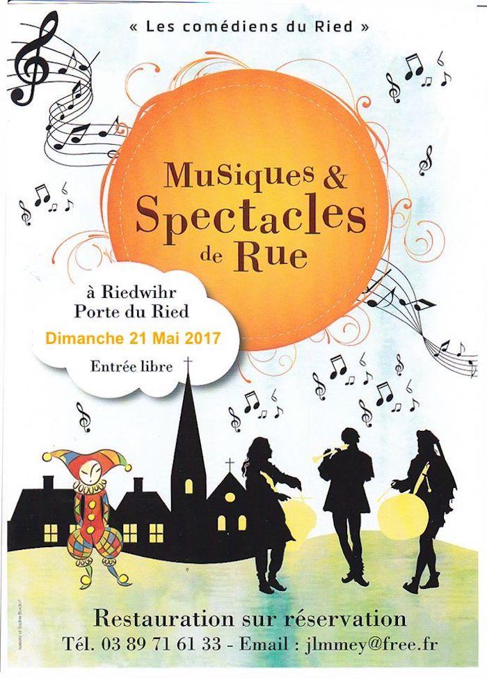 Spectacles et musiques de rue - Riedwihr