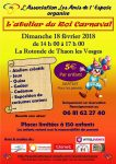 Atelier du Roi Carnaval - Les Amis de l'Espoir