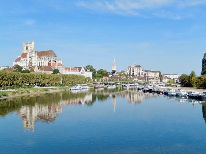 Auxerre au bord de l'Yonne