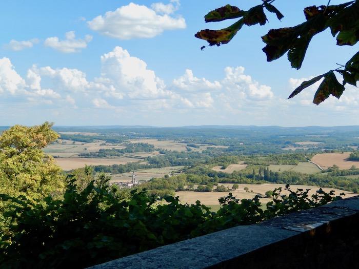Magnifique panorama sur la campagne bourguignonne