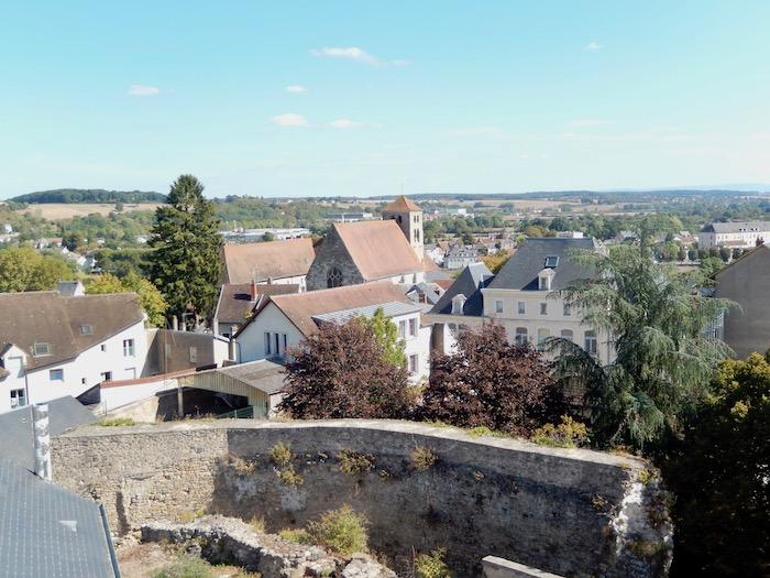 Vue depuis l'ancien château