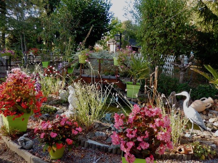 Dans le jardin de Catherine et Daniel